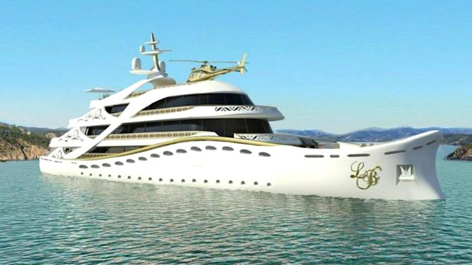 Meet the $100M superyacht that's just for women