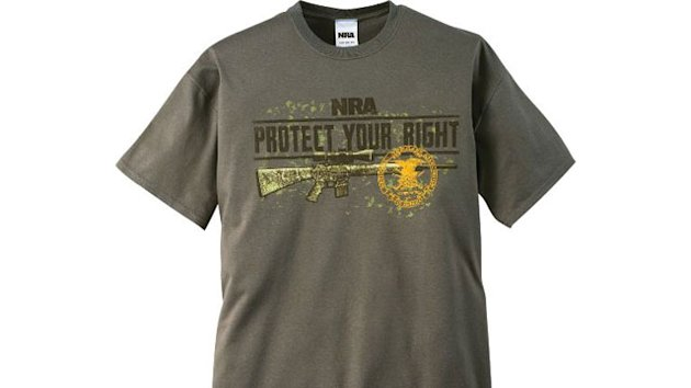 W.Va. Teen Arrested After 'Almost Inciting Riot' Wearing NRA Shirt to School (ABC News)