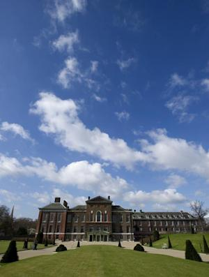 A general view of the Kensington palace, on March 20, …