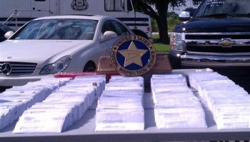 Seized fraudulent tax mailings are displayed during a news conference in Tampa, Florida, in this undated police handout photo. Tax identity theft skyrocketed to more than 1.2 million cases in 2012 from only 48,000 in 2008, according to the U.S. Treasury Department. REUTERS/Tampa Police Department/Handout