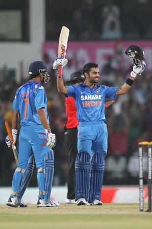 Virat Kohli smashed 115 off 66 balls