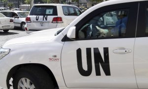 U.N. chemical weapons experts who are investigating …