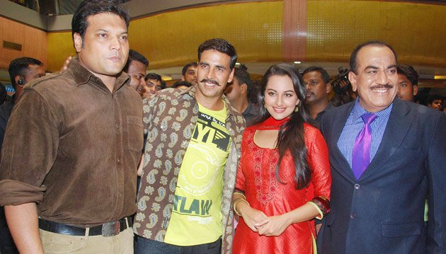 Promoting Rowdy Rathore
