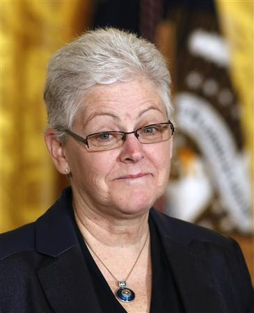 Nominee for Environmental Protection Agency Administrator Gina McCarthy in Washington