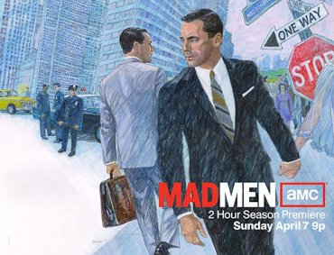 Mad Men seizoen 6 wallpaper