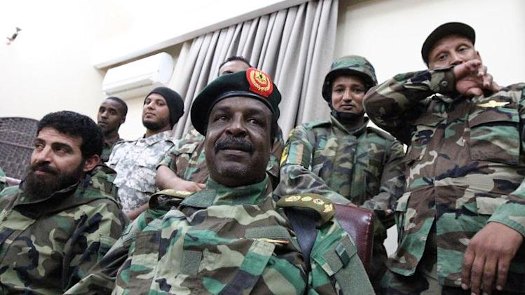 Colonel Wanis Abu Khamada, the commander of the country's special forces