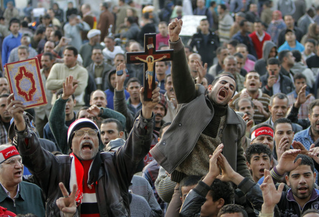 Egypt protests on anniversary of Mubarak ouster. | Rivers ...