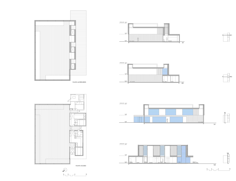 GYM PAVILION IN JARAÍZ de la VERA - LANDÍNEZ+REY | equipo L2G arquitectos [eL2Gaa]