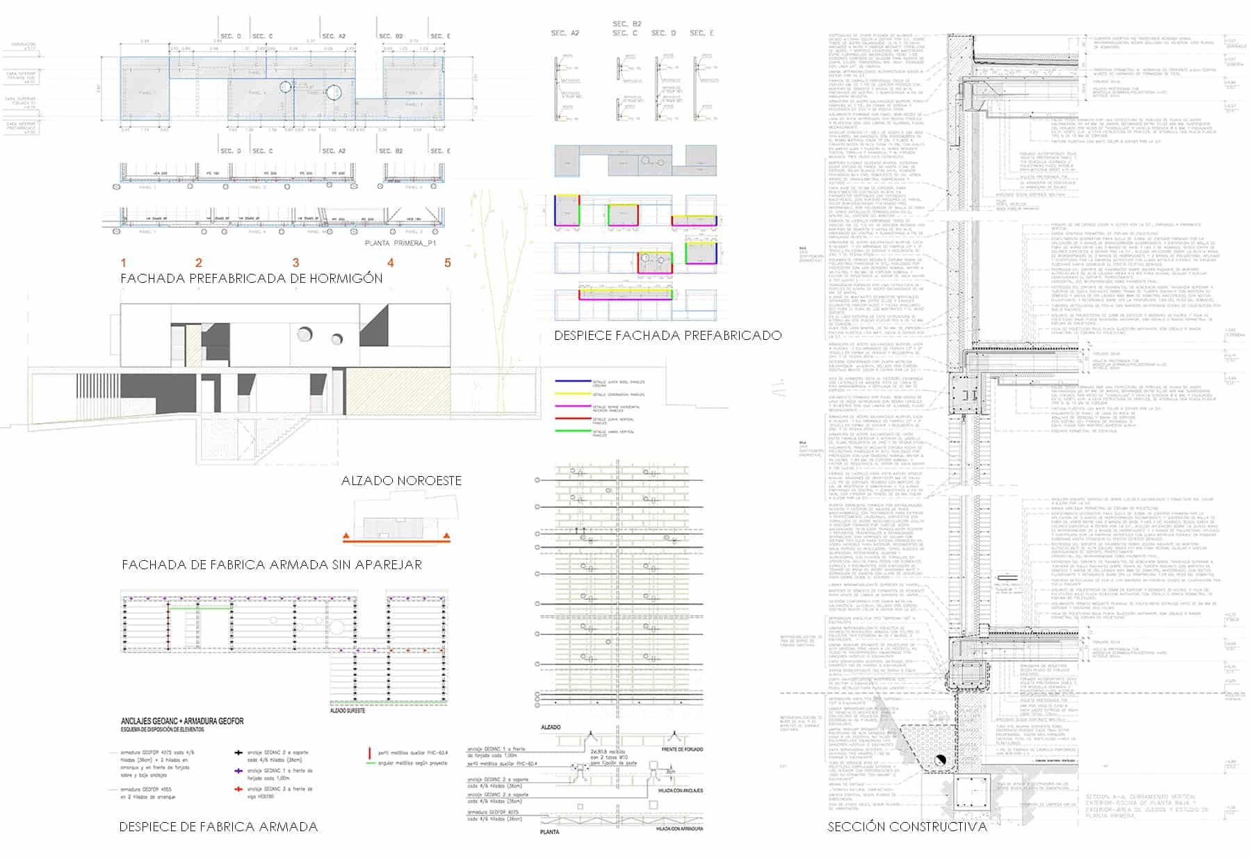 Vivienda_IA - construcción - hormigon arquitectónico y fabricas de ladrillo - LANDINEZ+REY | equipo L2G arquitectos, slp [ eL2Gaa ]