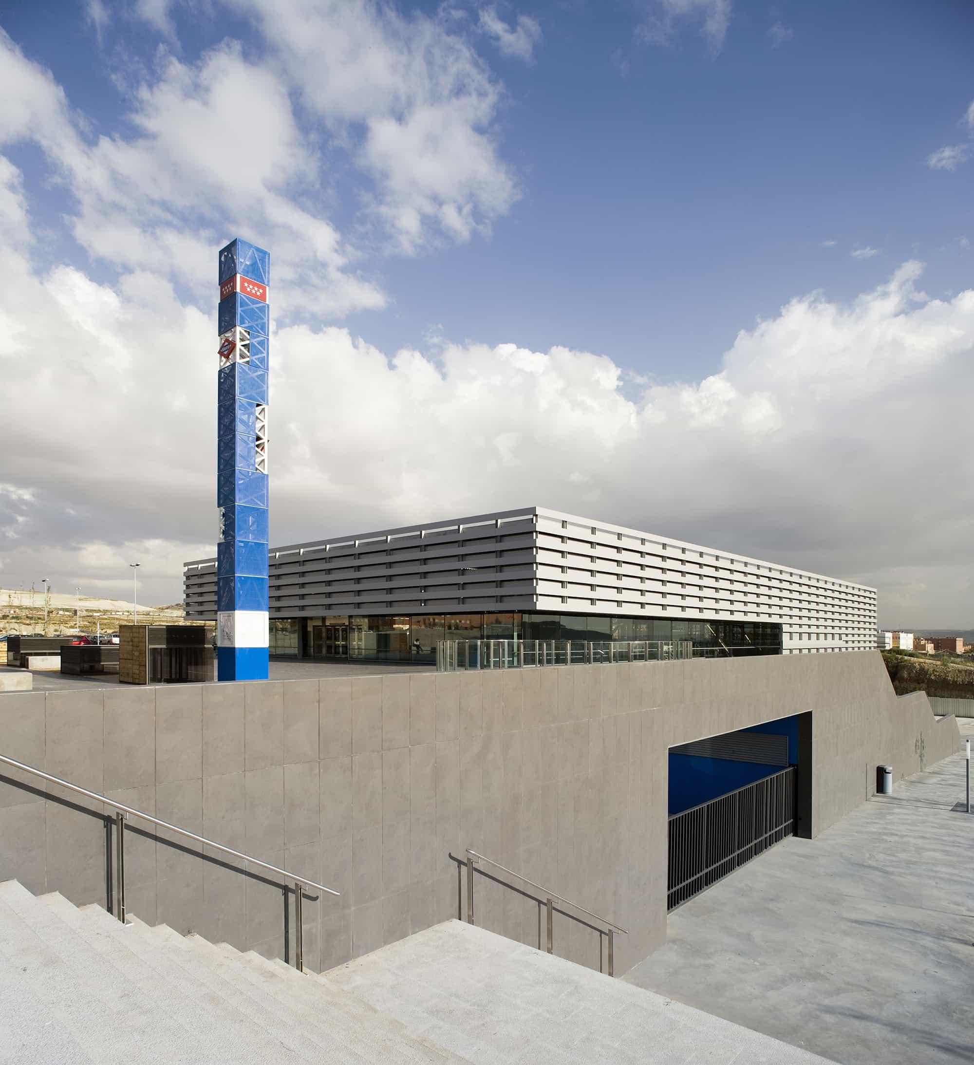 Estación METRO de Madrid - arquitectura transporte - Estación METRO de MADRID_LGV+LANDINEZ+REY | equipo L2G arquitectos, slp [ eL2Gaa ]