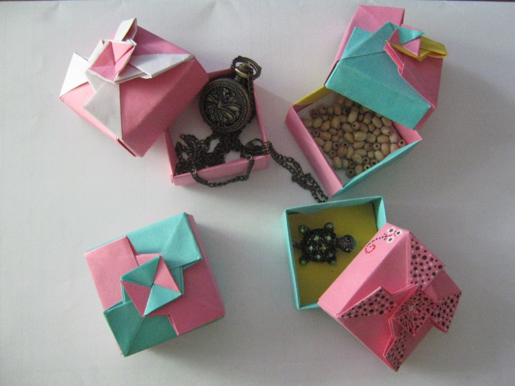 Origami Gift Box Learn 2 Origami Origami Paper Craft