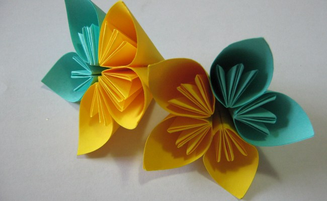 Tutorial How To Glue An Origami Kusudama Flower Learn 2