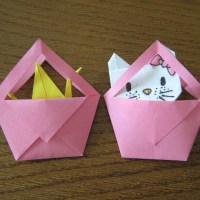 Origami Hand Bags