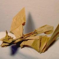 Origami Dragon Pterodactile