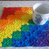 Video tutorial: Making an origami placemat