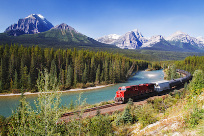 Canadian Rockies via Rail