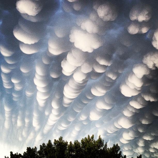 Curious clouds