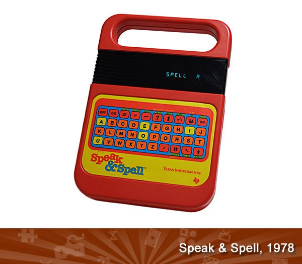 Speak & Spell, 1978