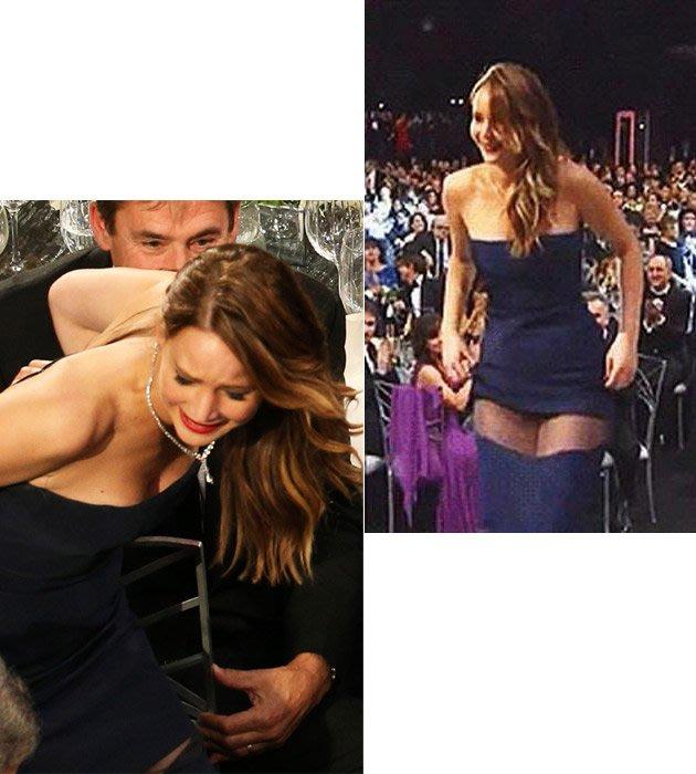 Celebrity wardrobe malfunction moments