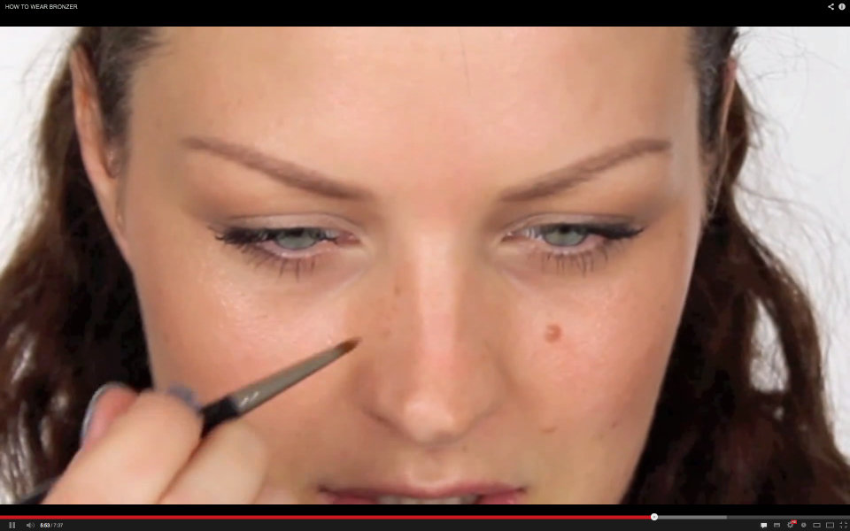 "Screenshot: ""HOW TO WEAR BRONZER"""