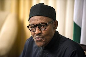 President Muhammadu Buhari gives an interview to Agence …