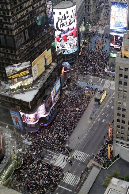 Occupy Wall Street at Times Square