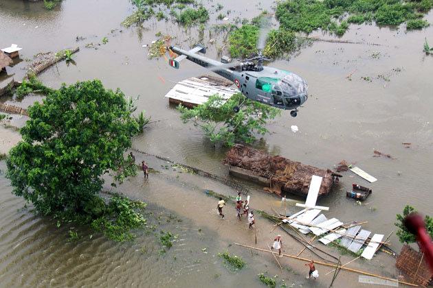 Floods kill 77 in Assam, two million affected