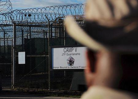 "ile photo of the outside of the ""Camp Five"" detention facility is seen at U.S. Naval Station Guantanamo Bay"