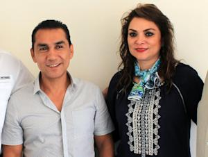 Former Iguala mayor Jose Luis Abarca and his wife Maria …