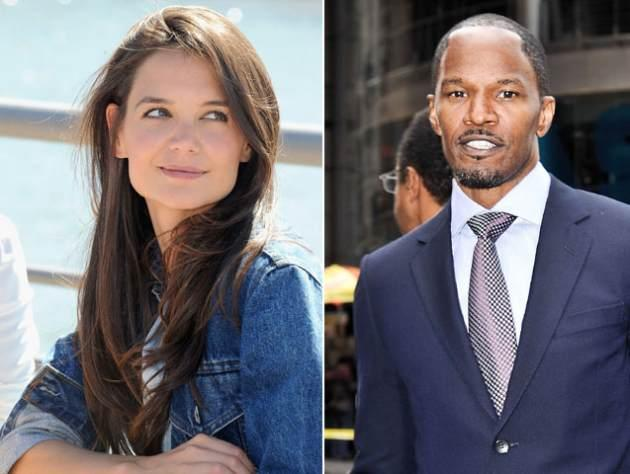 Katie Holmes / Jamie Fox -- Getty Images