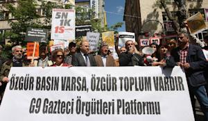 Prominent Turkish journalists and lawmakers protest …