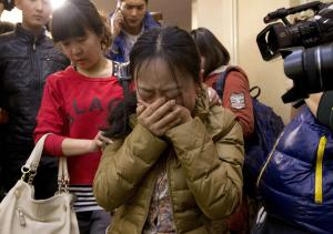 A Chinese relative of passengers aboard a missing Malaysia …