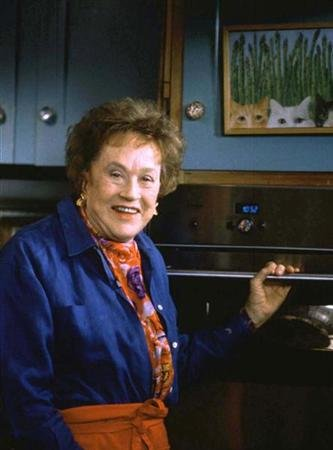 JULIA CHILD CELEBRATES HER RECENTLY PUBLISHED BIOGRAPHY