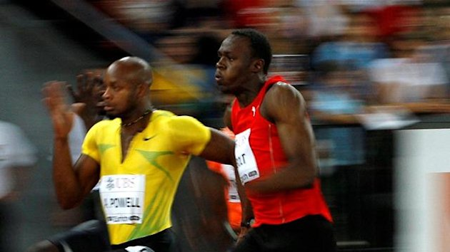 asafa powell, usain bolt