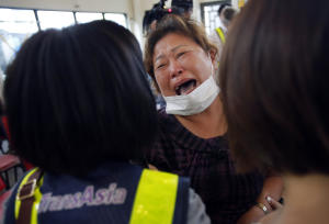 A relative of a victim in the TransAsia Airways flight …
