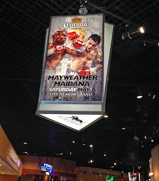 MGM Promo @ Pacquiao vs Bradley Fight