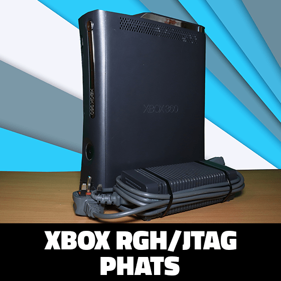 Modded Xbox 360 RGH Phats