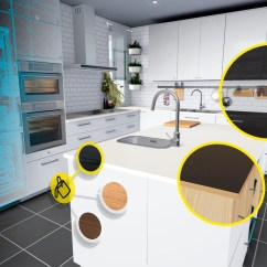 Kitchen Remodel Simulator Updated Kitchens Ikea Brings Design To Virtual Reality Vrscout Vr Htc Vive 2