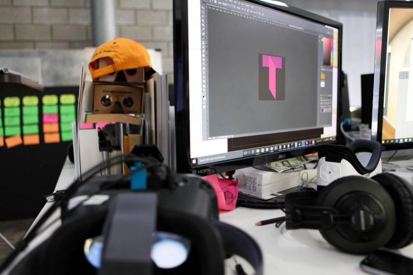 Designing the Transport Logo in a sea of headsets