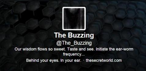 The Buzzing Twitter account.