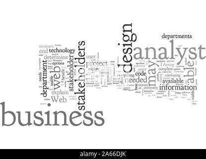Stakeholder word cloud concept with business budget