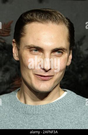 Eamon Farren. The Witcher - World Premiere. Leicester Square. London. UK. 16 December 2019. Photo by Richard Goldschmidt Stock Photo - Alamy