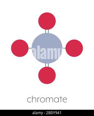 Chromate Anion Chemical Formula : chromate, anion, chemical, formula, Chromate, Anion, Chemical, Structure,, Illustration, Stock, Photo, Alamy