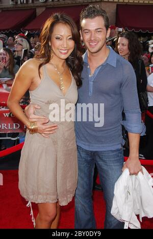 Carrie Ann Inaba and Artem Chigvintsev Leaving Koi sushi ...