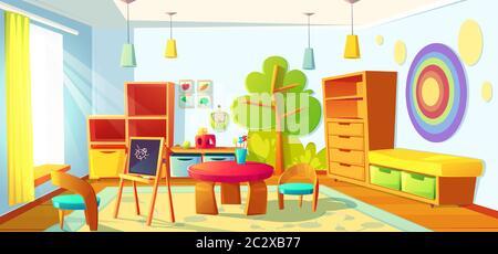 kids toys room shelf table object entertainment cartoon vector illustration Stock Vector Image & Art Alamy