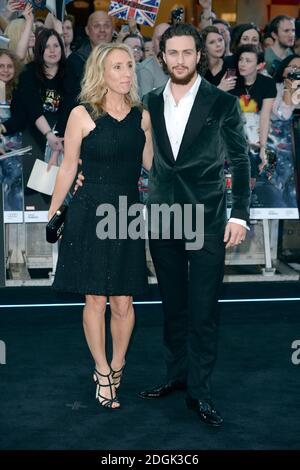 Aaron Taylor Johnson arrives at the European premiere of ...
