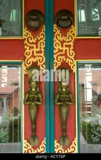German Buddhist Temple. Lumbini. Nepal Stock Photo ...