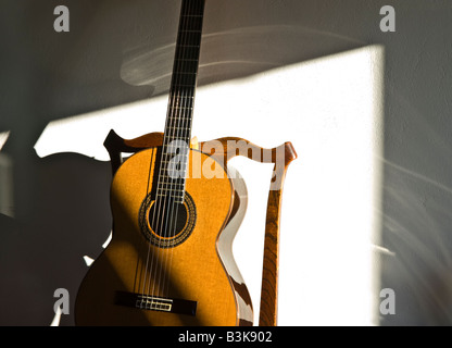 classical guitar chair table and set walmart a on stock photo 224170763 alamy made by spanish madrid based luthier manuel contreras resting antique