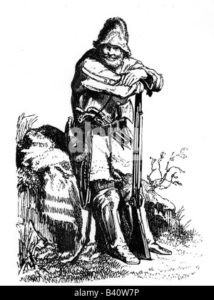 geography travel USA people trapper Richard