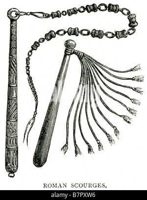 Cat-o-Nine-Tails Whip as used to torture Jesus Christ in